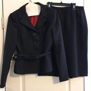 Classic pin-stripe suit size 4